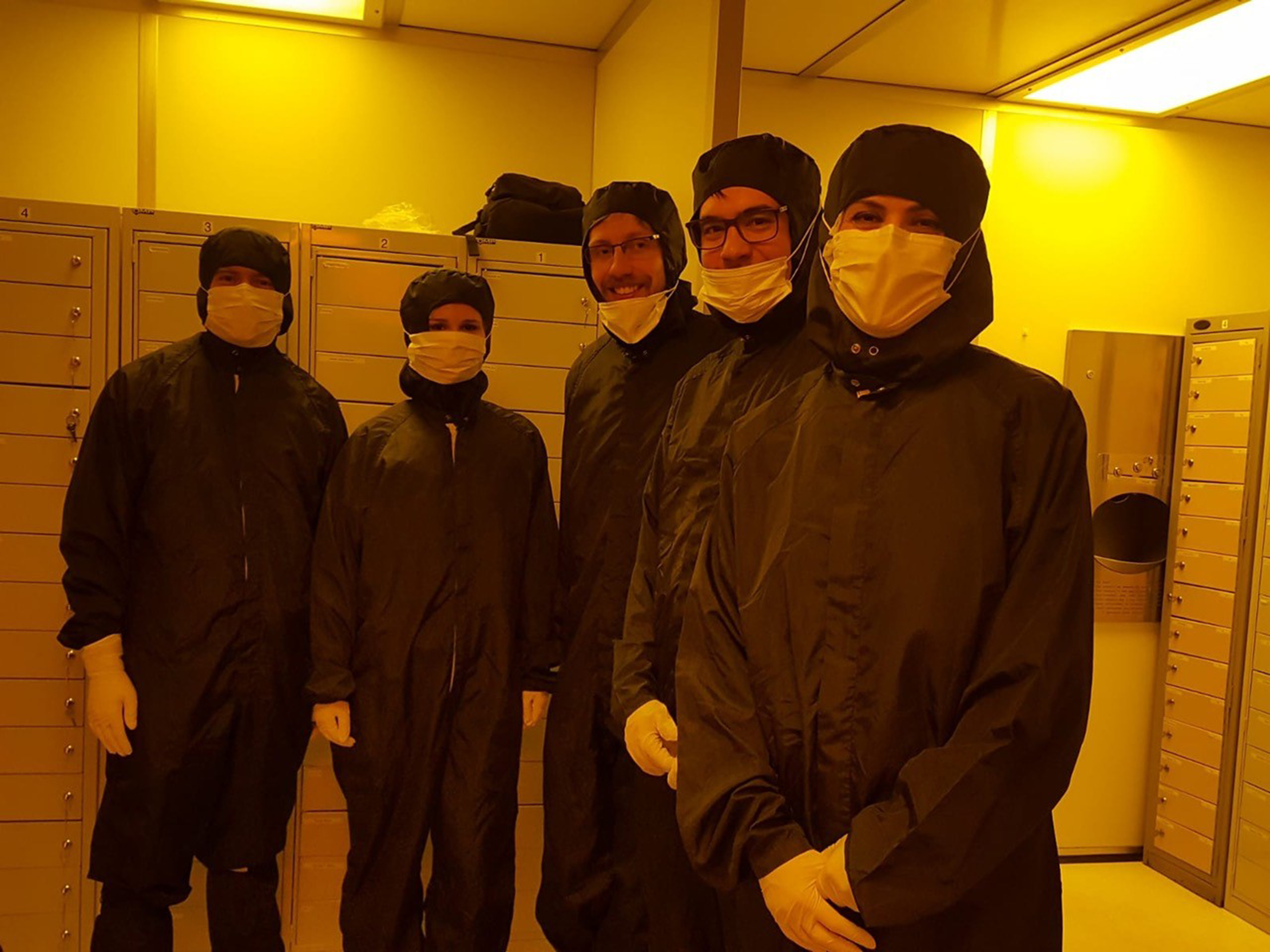 Glasgow induction clean room